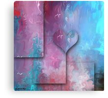 Love Abstract 47- art + Products Design Canvas Print