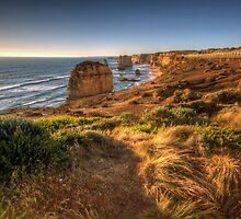Walkway To Majesty- The Twelve Apostles, The Great Ocean Road, Australia - The HDR Experience by Philip Johnson