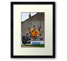 London Graffiti: What does it mean? Framed Print