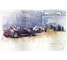 Italian GP Livorno 1937  Poster