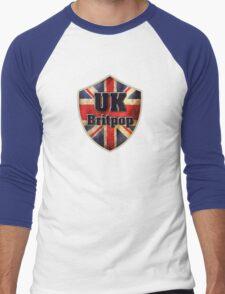 UK Britpop Men's Baseball ¾ T-Shirt
