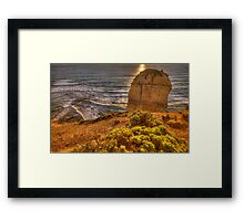 Rock Garden - The Twelve Apostles, The Great Ocean Road, Australia - The HDR Experience Framed Print
