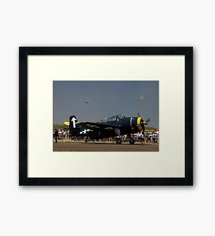 Avenger 441,Evans Head Airshow,Australia 2010 -  Framed Print