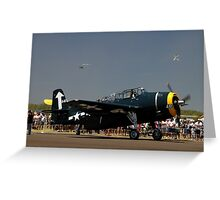 Avenger 441,Evans Head Airshow,Australia 2010 -  Greeting Card