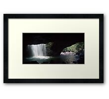 Natural Bridge - Springbrook National Park, Qld Framed Print