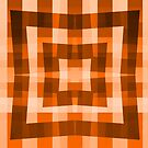 Warm Brown Square/Star Pattern (2 of 2, please see notes) by Ra12