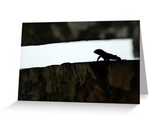Crevasse - Brazil Greeting Card