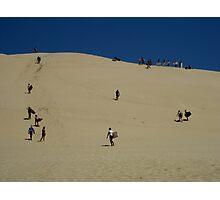 Climbing the Dune Photographic Print