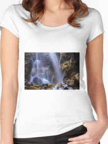 Misty falls  Women's Fitted Scoop T-Shirt