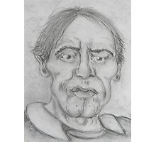 conte' drawing Photographic Print