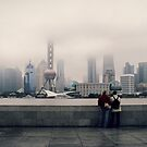 View from the Bund by Nicolas Noyes