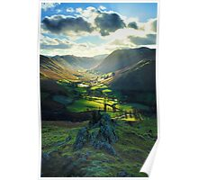 The Lake District Shire Poster