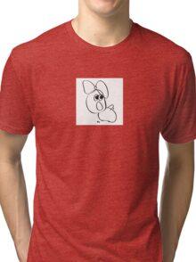 Bee sees Loch Ness Monster Tri-blend T-Shirt