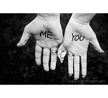 Me and You Photographic Print