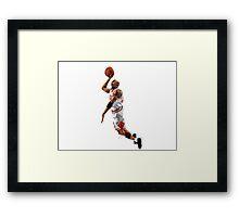 Michael jordan best player of all the time 23. Framed Print