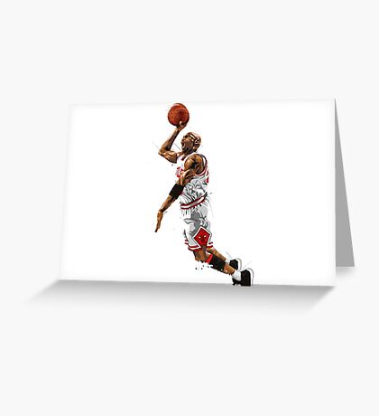 Michael jordan best player of all the time 23. Greeting Card