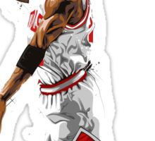 Michael jordan best player of all the time 23. Sticker