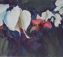 Bleeding hearts by Ellen Keagy