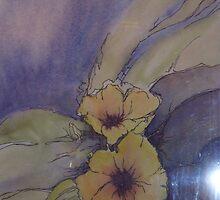 Yellow floral by Ellen Keagy