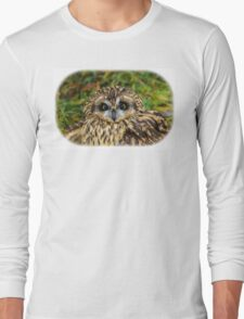 Revelstoke short-eared owl Long Sleeve T-Shirt