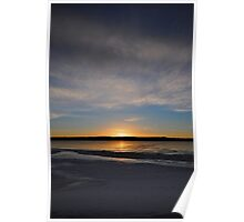 Sunrise's shores Poster