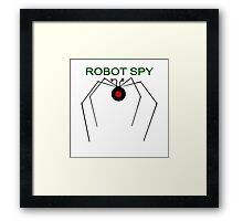 The Robot Spy from Jonny Quest Framed Print