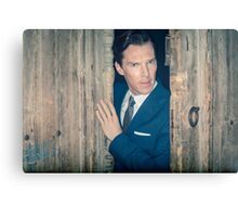 Cumberbatch is watching you Canvas Print