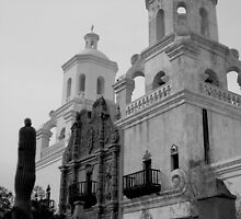 San Xavier Mission by Kyle  Kettler