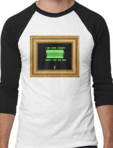 Drake- Charged Up Men's Baseball ¾ T-Shirt