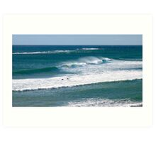 Surfs up 3.....Port Noarlunga Art Print