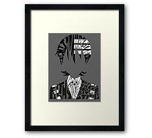 Death the kid Framed Print