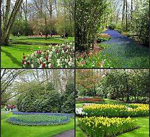 A Dutch Spring Collage - Keukenhof Gardens by MidnightMelody