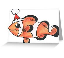 Party Clownfish Greeting Card