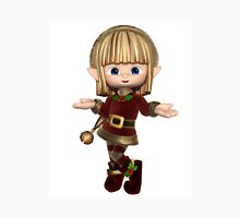 Cute Happy Toon Christmas Elf Unisex T-Shirt