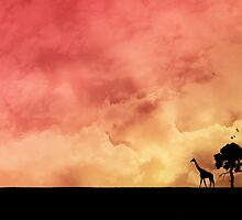 African Sunset by JZdezigns