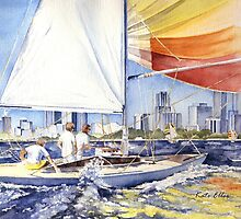 City Sailing by Kate Eller