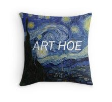 art hoe Throw Pillow