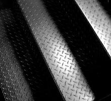 Metal Stairs by Michael  Herrfurth