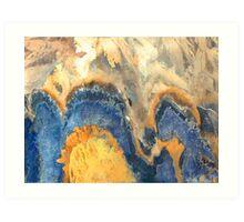 """Blue Hills""  Art Print"
