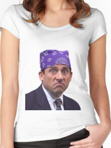 prison mike Women's Fitted Scoop T-Shirt