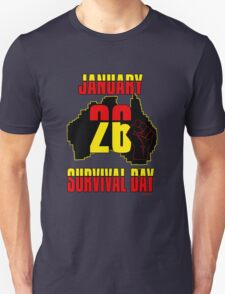 January 26 Survival Dayiii [-0-] T-Shirt