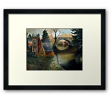 Thetford Autumn Framed Print