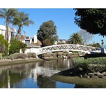 Venice Canals Photographic Print
