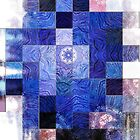 Blue Mosaic 2 by Robert Burns