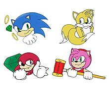 Team Sonic Photographic Print
