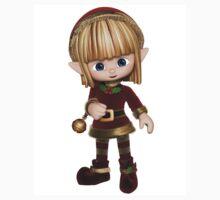 Cute Toon Christmas Elf Kids Clothes