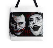 Faces of Joker Tote Bag