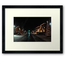 Home for Christmas! Framed Print
