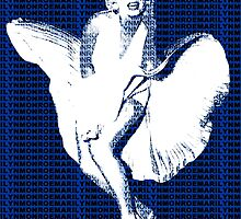 Marilyn Monroe Iconic White Dress Blowing Image  by yin888