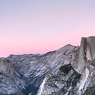 Half Dome at Sunset by Anne McKinnell